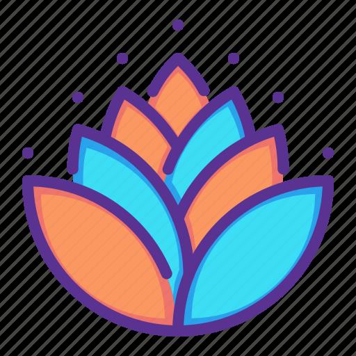 diwali, hindu, holy, leaves, lotus, mango, religion icon