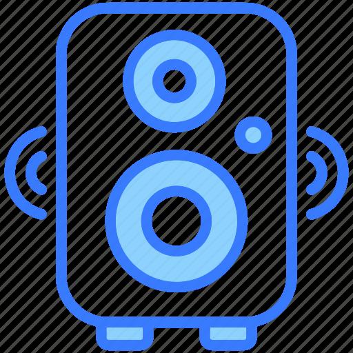 Speaker, loudspeaker, announcement, sound, volume, loud, voice icon - Download on Iconfinder