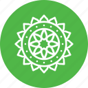 decoration, diwali, festival, hindu, indian, rangoli, sticker icon