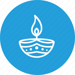 celebration, decoration, diwali, diya, festival, indian, lamp icon