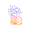 bombs, diwali, festival, fireworks, lights icon