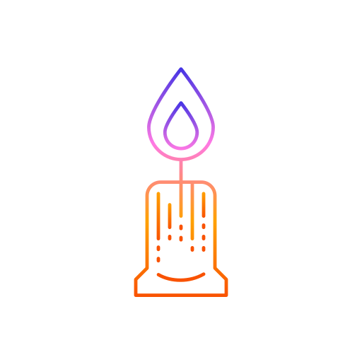candle, decorations, diwali, festival, lights icon