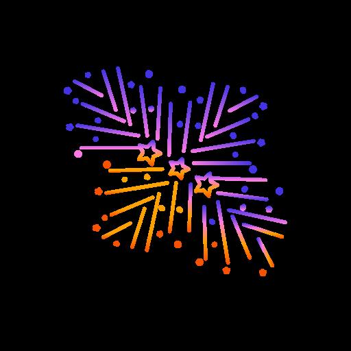diwali, festival, fireworks, lights, shell icon