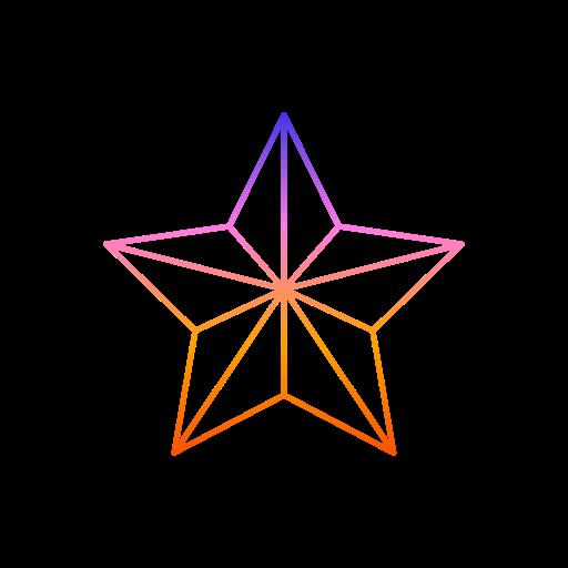 decorations, diwali, festival, lights, star icon