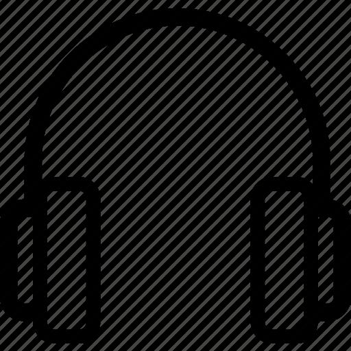 controls, headphones, listen, media, media player, music, player icon