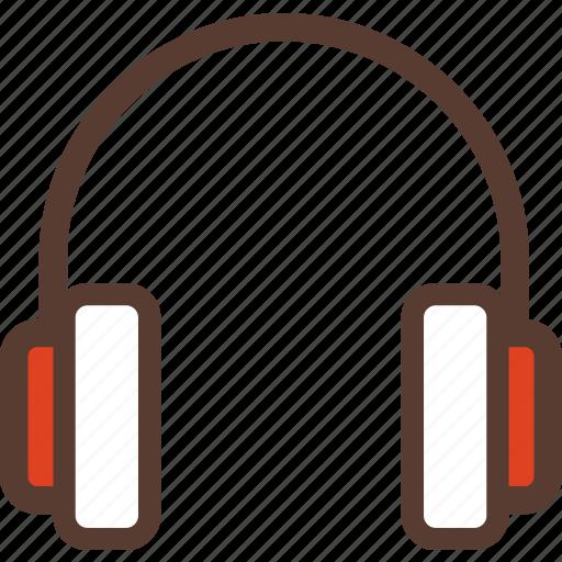 dj, headphones, media, mp3, music, studio icon