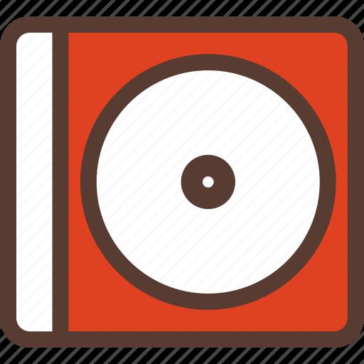case, cd, cdcase, dj, media, music, studio icon