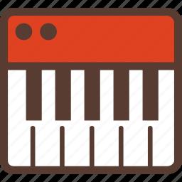 dance, dj, electronic, keyboard, media, music, studio icon