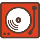 birthday, event, media, music, record, studio, turntable icon