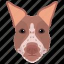 animal, dobermann, dog, dog breed, domestic dog icon
