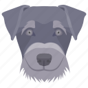 animal, dog, domestic animal, fighting dog, staffordshire bull icon