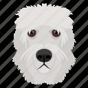 animal, dog, dog breed, herding dog, old english sheepdog icon