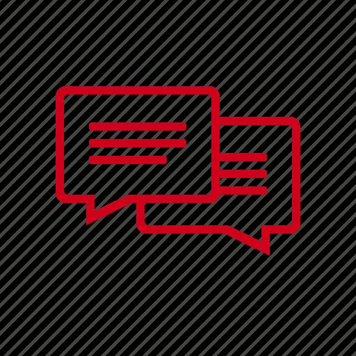 bubble, bubbles, chat, communication, dialogue, message, talk icon