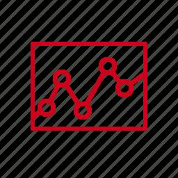 chart, data, diagram, graph, statistic, statistics icon