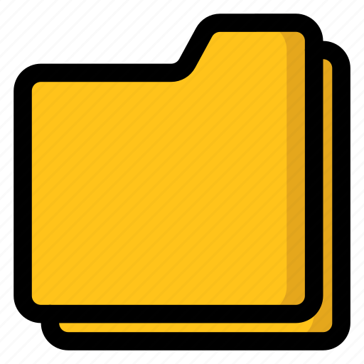 cases, files, folders, pile, storages icon