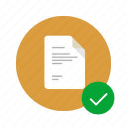 approve, approveв, check, correct, docs, document, done icon