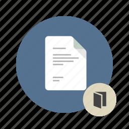 access, catalog, docs, document, file, files, folder icon