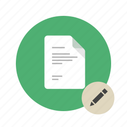docs, document, edit, new, pen, pencil, write icon