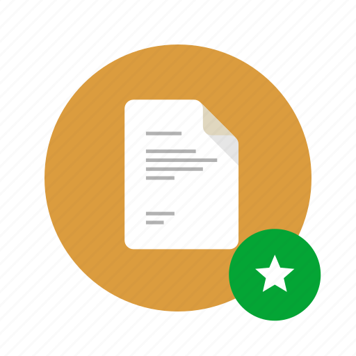 best, bookmark, docs, document, favorite, star, starred icon