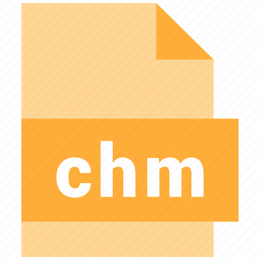 chm, mime type icon