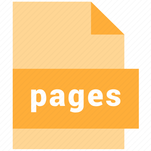 file, format, pages icon