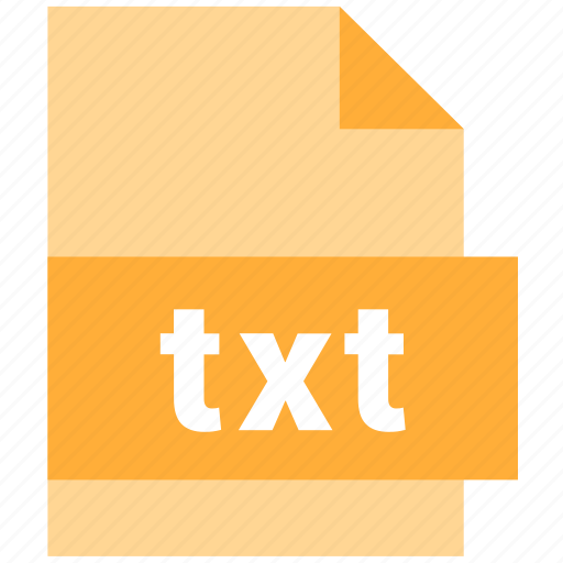 file, file extension, text file, txt icon