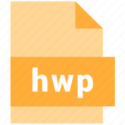 document, file, format, hwp, type icon