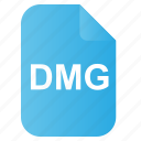 dmg, doc, file, mac, os icon