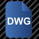 doc, dwg, file, os icon