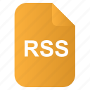 doc, file, os, rss icon