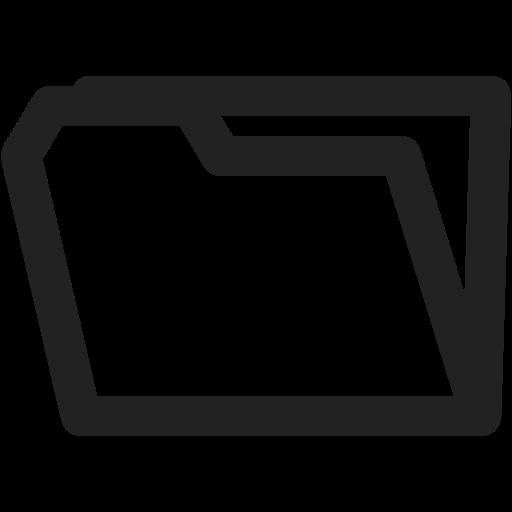 archive, blanc, folder, folders, open, storage icon
