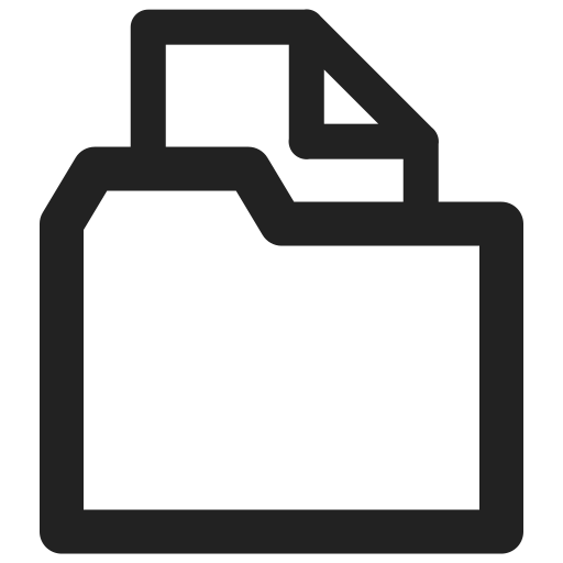 archive, documents, file, folder, sheet icon