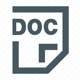 doc, doc file, document, documents, extension, file, files, gizmo, letter, paper, simple icon