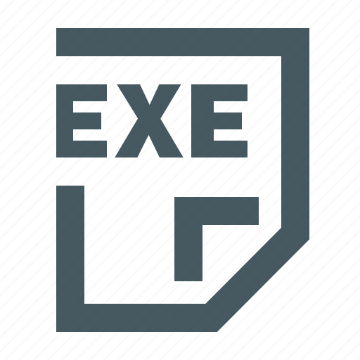 document, documents, exe, exe file, extension, file, files, gizmo, letter, paper, simple icon
