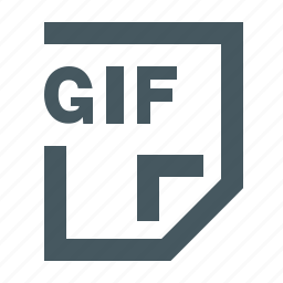 document, documents, extension, file, files, gif, gif file, gizmo, letter, paper, simple icon