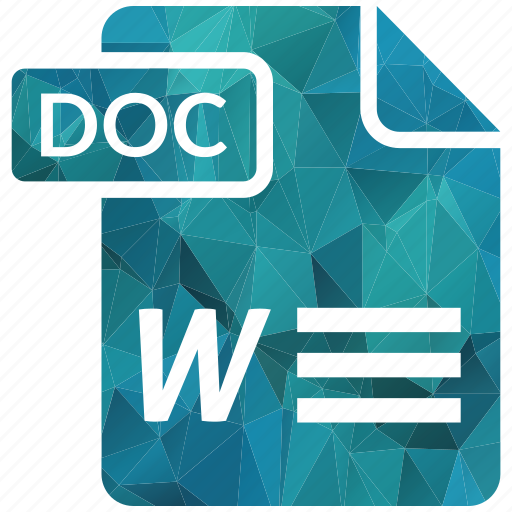 doc, document, extension, page, type icon