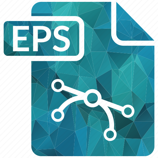 document, eps, extension, page, type icon