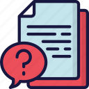 document, documentation, faq, files, note, question