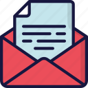 document, documentation, email, files, mail, note icon
