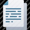 document, documentation, files, generic, note, paper