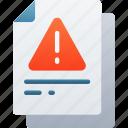 document, documentation, error, files, note, warning