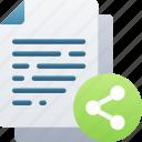 document, documentation, files, note, share, social