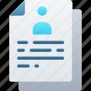 document, documentation, files, note, profile, user
