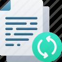 document, documentation, files, new, note, restart