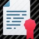 award, document, documentation, files, note, reward