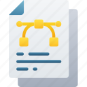 document, documentation, files, graphic, note icon