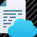 cloud, document, documentation, files, icloud, note