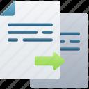 copy, document, documentation, files, note, paste