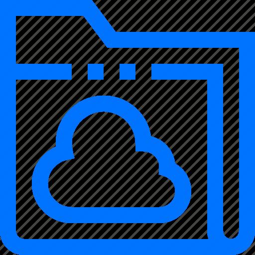cloud, data, documents, file, folder, online, sync icon