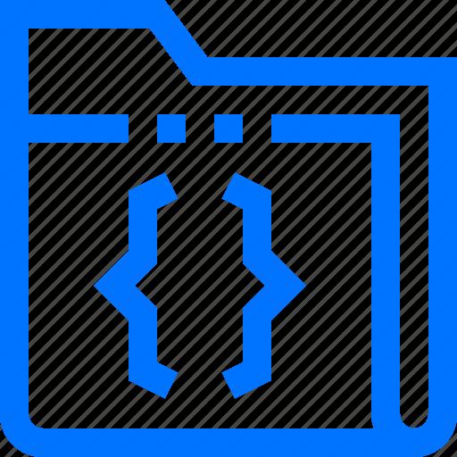 code, data, documents, file, folder, keep, script icon